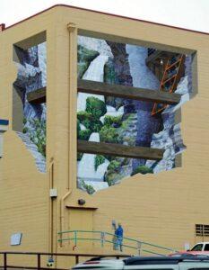 Alucinantes murales en edificios