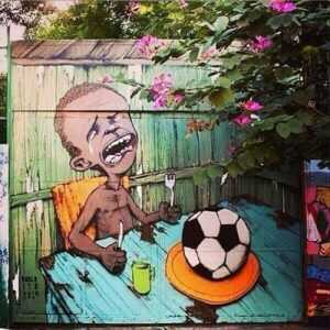 Arte callejero Mundial Brasil 2014