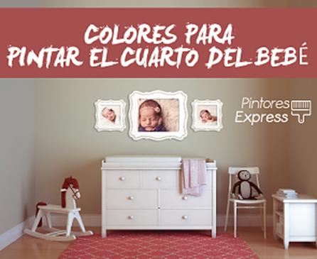 Colores para la habitación del bebé