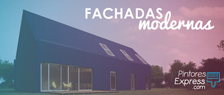 Cómo conseguir una fachada moderna