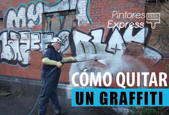 Cómo cubrir un graffiti