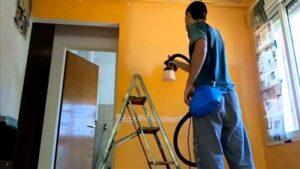 Cómo pintar paredes con pistola fácilmente