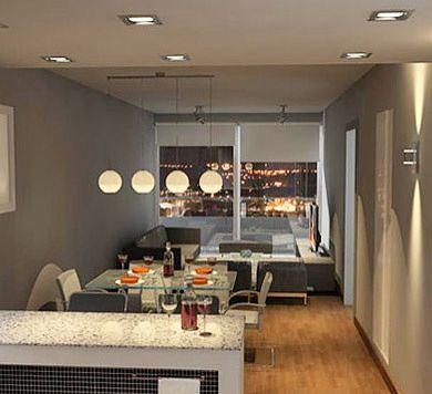 Cómo pintar pisos pequeños