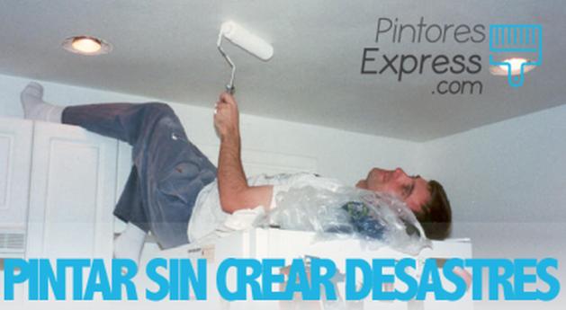 Cómo pintar una habitación sin crear un desastre