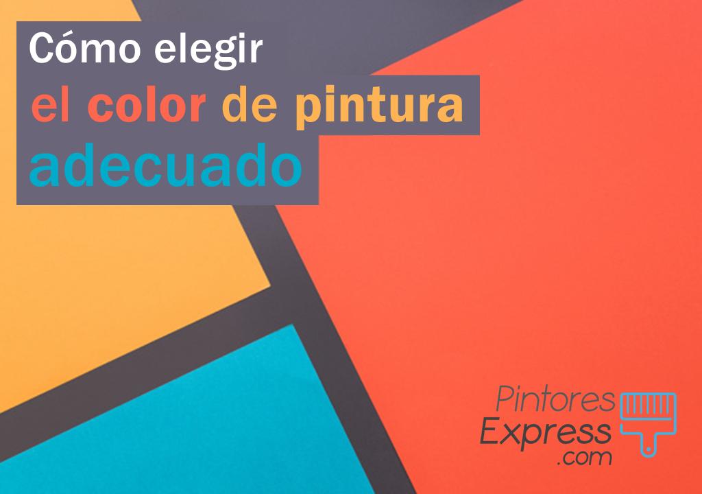 Consejos para elegir el color de pintura a tu hogar
