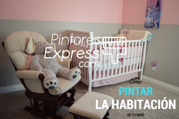 Consejos para pintar la habitación de tu bebé