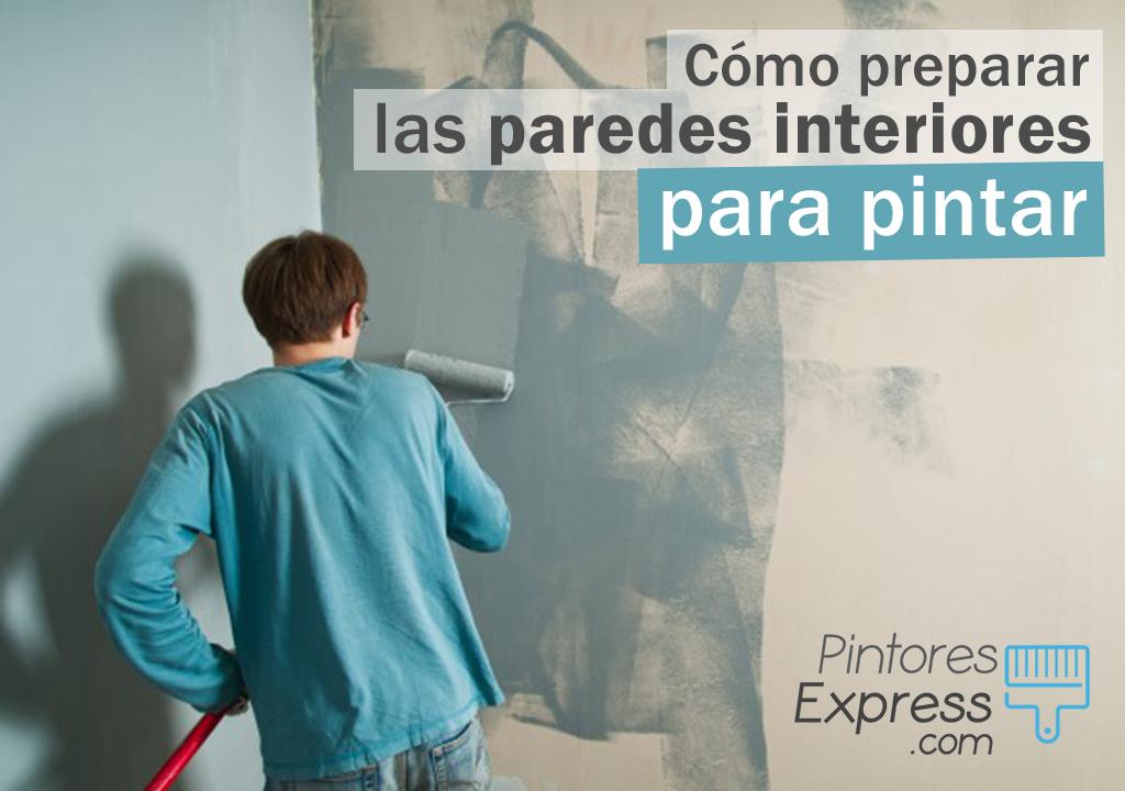 Consejos para preparar las paredes antes de pintarlas