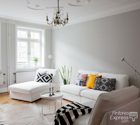 Cuál es el mejor color para pintar tus paredes blanco