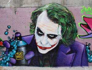 Espectaculares graffitis de películas alrededor del Mundo