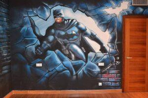 Graffitis decorativos en viviendas
