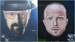 Increíbles graffitis de series