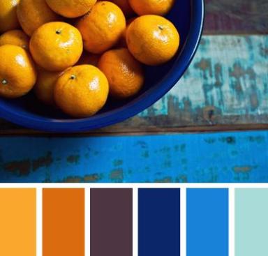 Inspiración de colores para el 2016