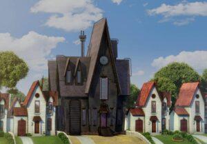 Las casas de las películas