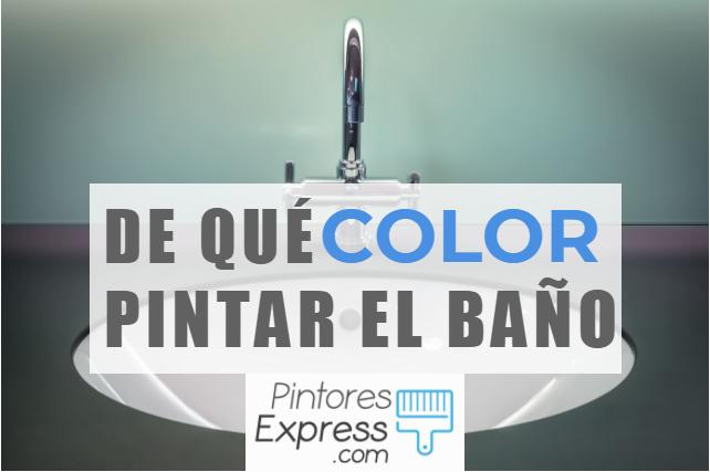 Los 3 colores ideales para pintar el cuarto de baño