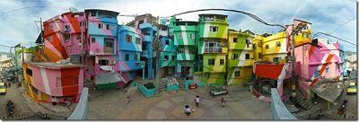 Los barrios más coloridos del mundo Rio