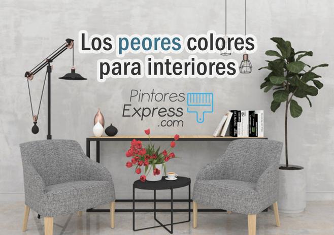 Los peores colores para pintar el interior de tu hogar