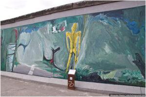 Pintadas y arte callejero en el Muro de Berlín