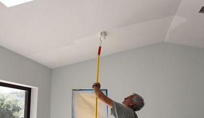 Pintar el techo de casa en 7 pasos