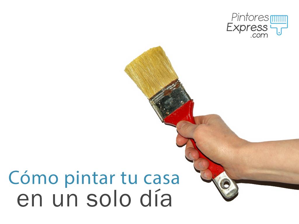 Pintar tu casa en un día Los mejores consejos