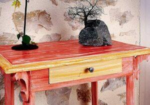 Pintura efecto de madera