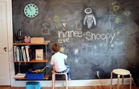 Qué hacer cuando tu hijo pinta la pared