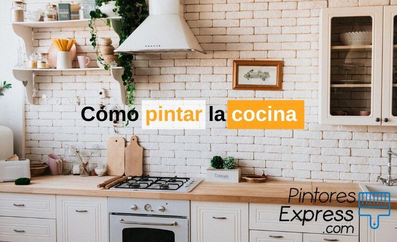 6 pasos para pintar la cocina