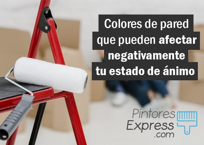 Colores de pared que pueden afectar a tu estado de ánimo