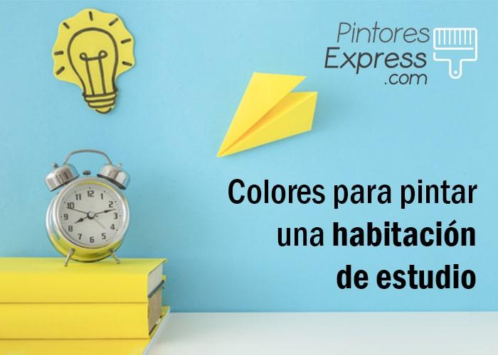 Colores para pintar una habitación de estudio
