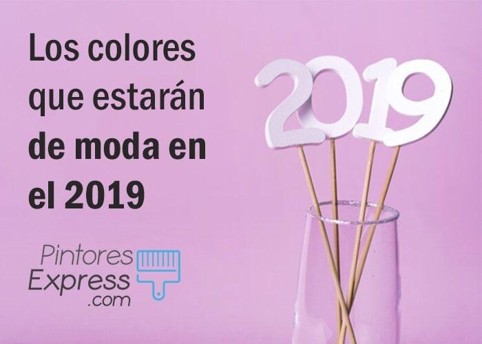 Colores que estarán de moda en 2019