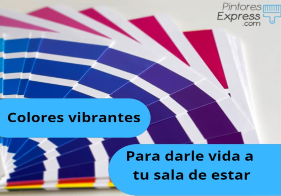 Colores vibrantes para darle vida a tu sala de estar