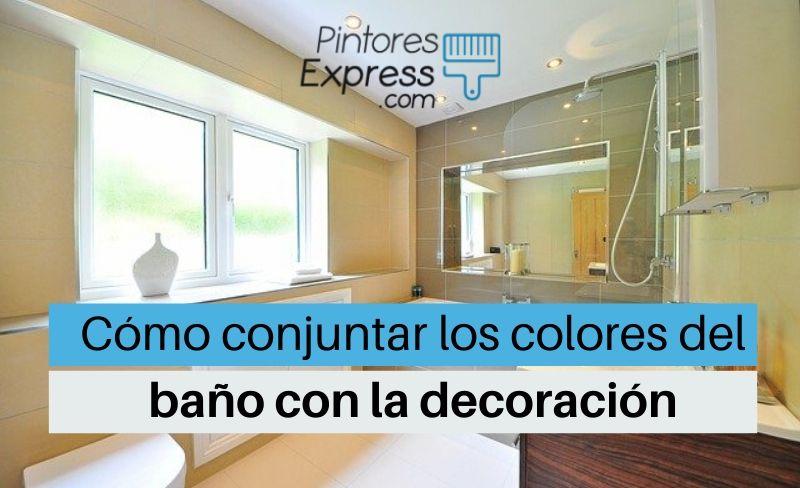 Cómo conjuntar los colores del baño con la decoración