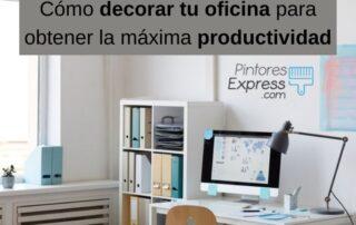Cómo decorar tu oficina para obtener la máxima productividad