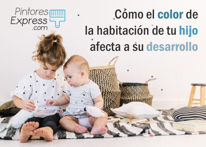 Cómo el color de la habitación de tu hijo afecta su desarrollo