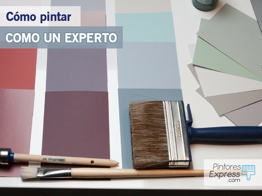 Cómo pintar casas como un experto