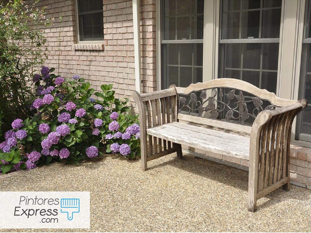 Cómo pintar el patio o la terraza de manera profesional