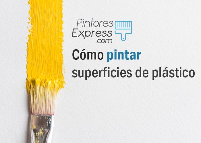 Cómo pintar superficies de plástico sin problemas