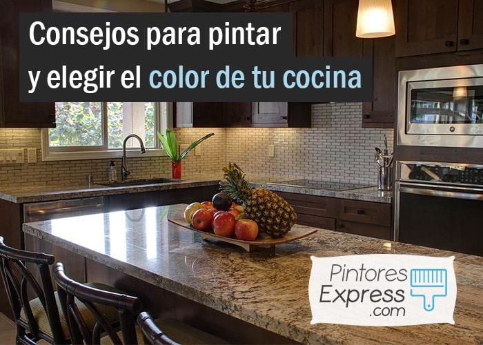 Consejos para pintar y elegir el color de tu cocina