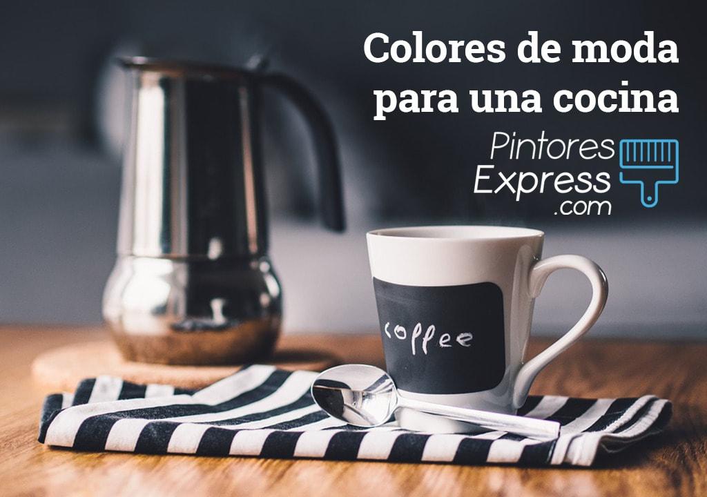 Los 6 colores de moda para pintar una cocina en tendencia