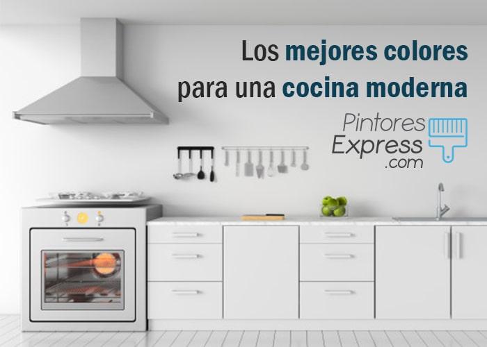 Los mejores colores para una cocina moderna