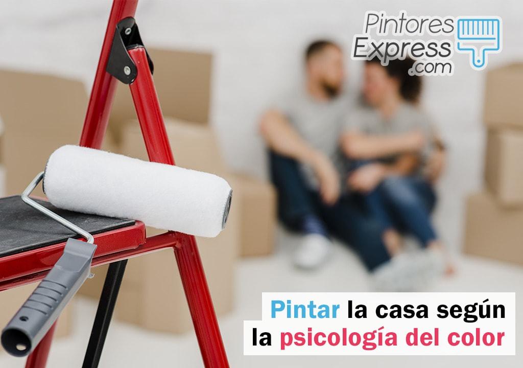 Pintar las estancias de tu hogar según la psicología del color