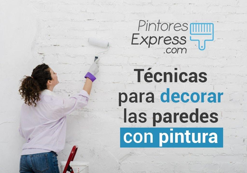 Técnicas de decoración de paredes | Pintar paredes
