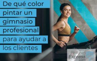 color pintar un gimnasio