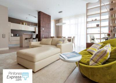 casa organizada por profesionales de la limpieza